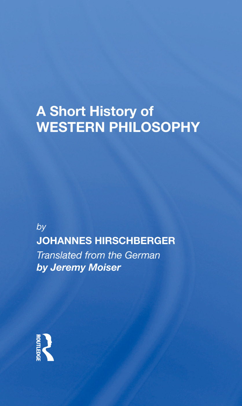 Short History W Philosoph: 1st Edition (Hardback) book cover
