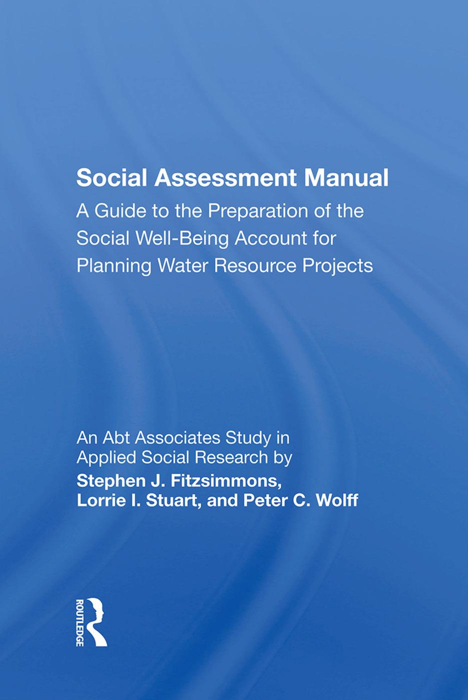 Social Assessment Manual: 1st Edition (Hardback) book cover
