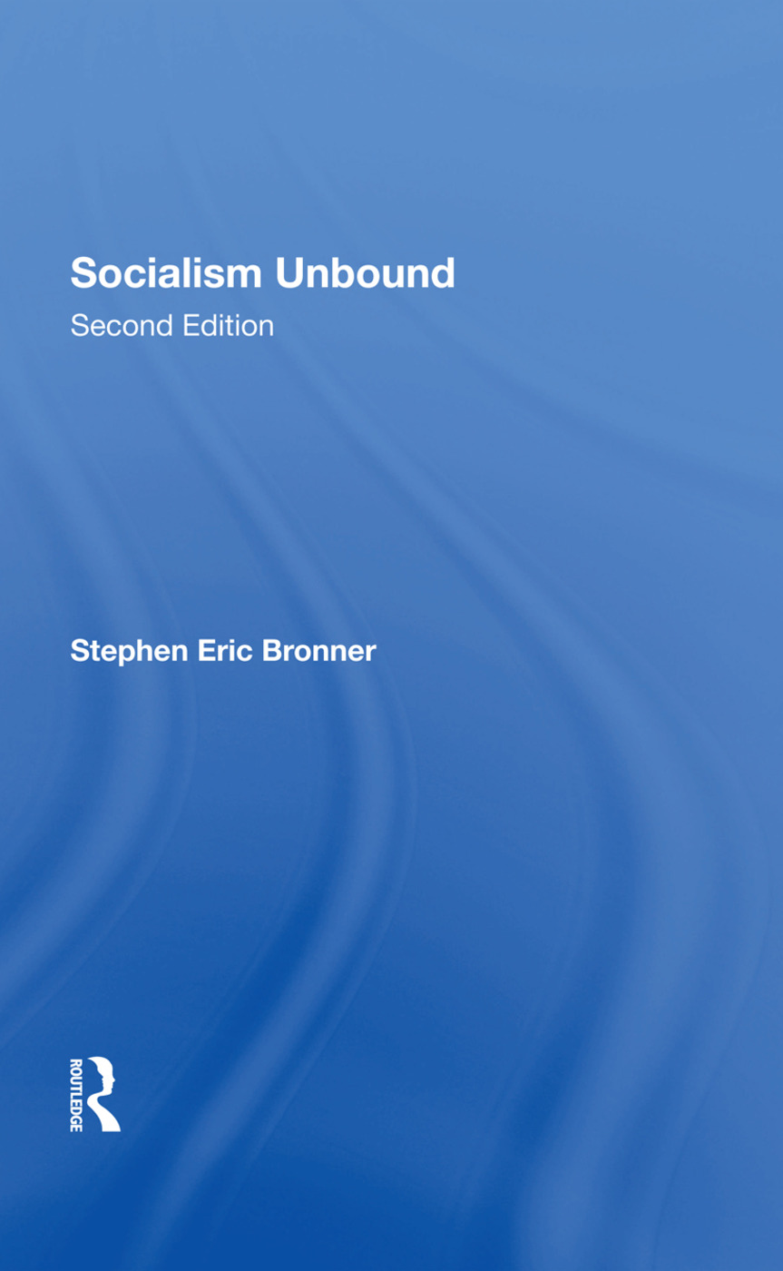 Socialism Unbound: Second Edition, 1st Edition (Hardback) book cover