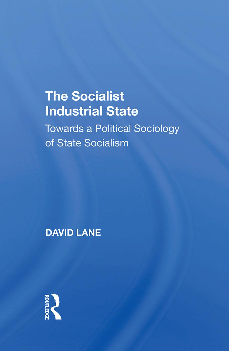 Socialist Industrial Sta/h: 1st Edition (Hardback) book cover