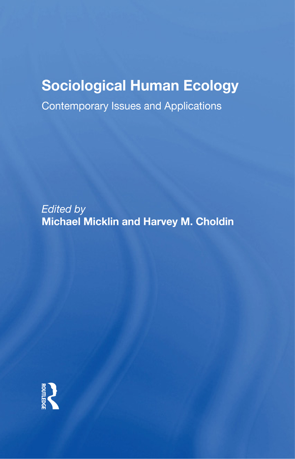 Human Ecology and Social Policy