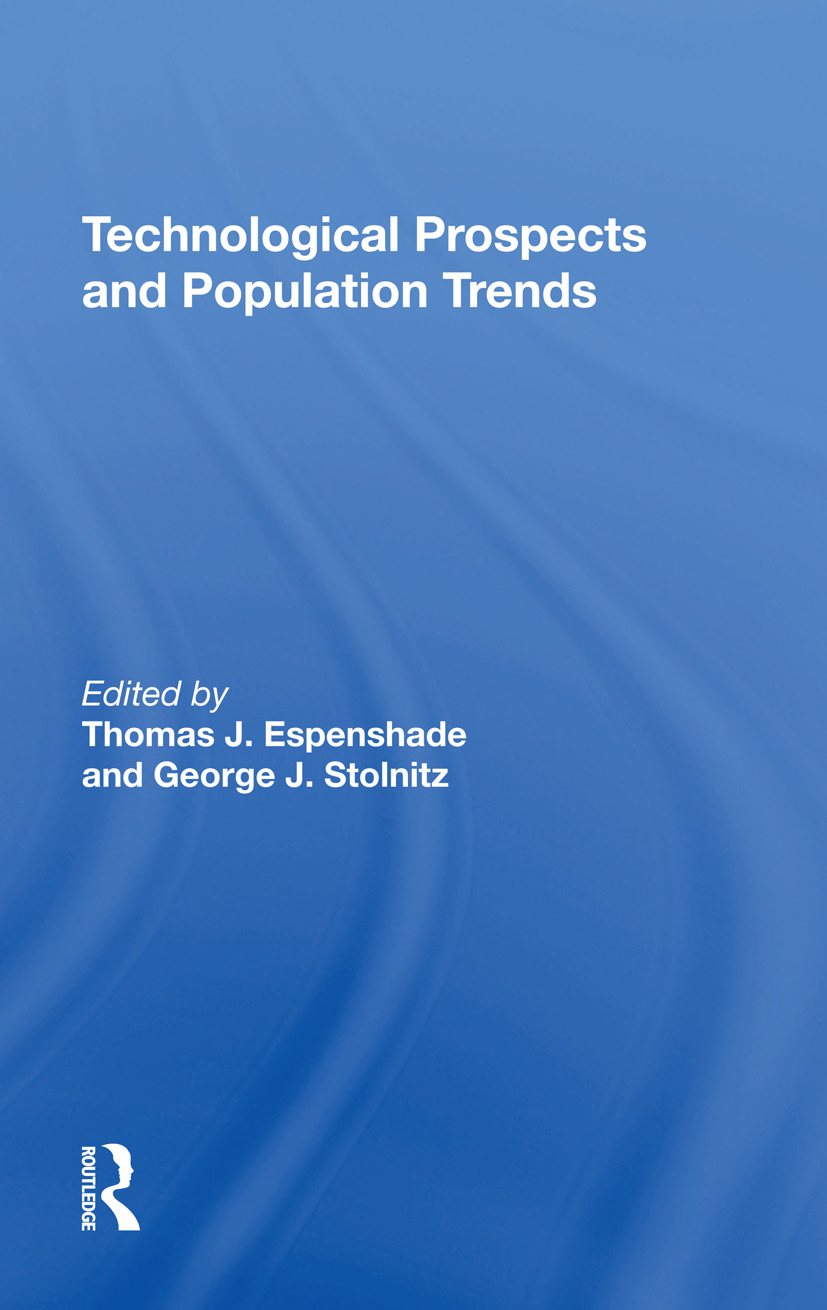 Technological Prospects And Population Trends: 1st Edition (Hardback) book cover