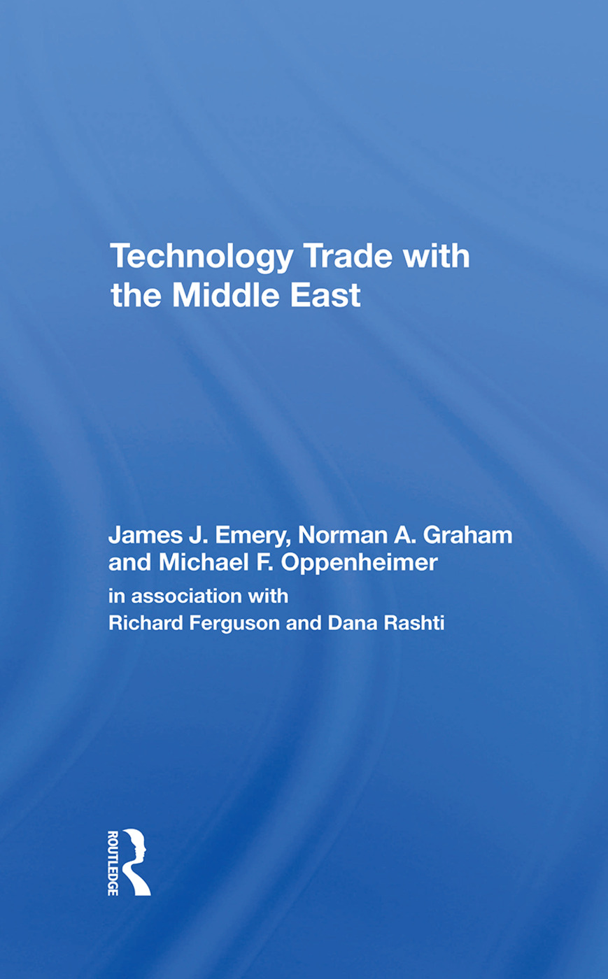 Technology Trade With The Middle East book cover
