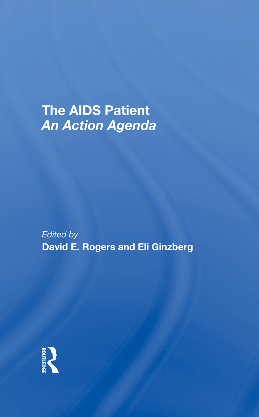 The Aids Patient: An Action Agenda, 1st Edition (Hardback) book cover