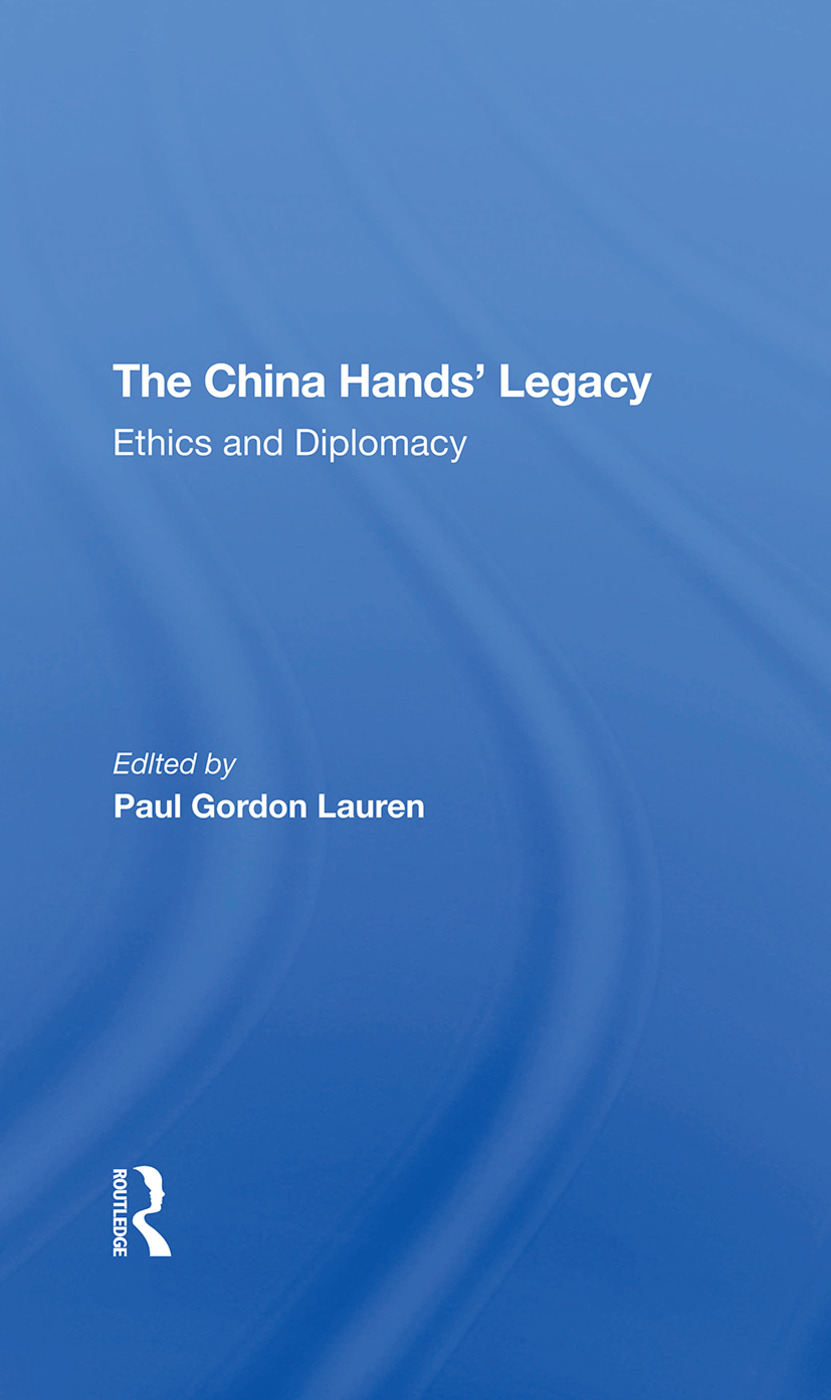 The China Hands and McCarthyism: An Overview
