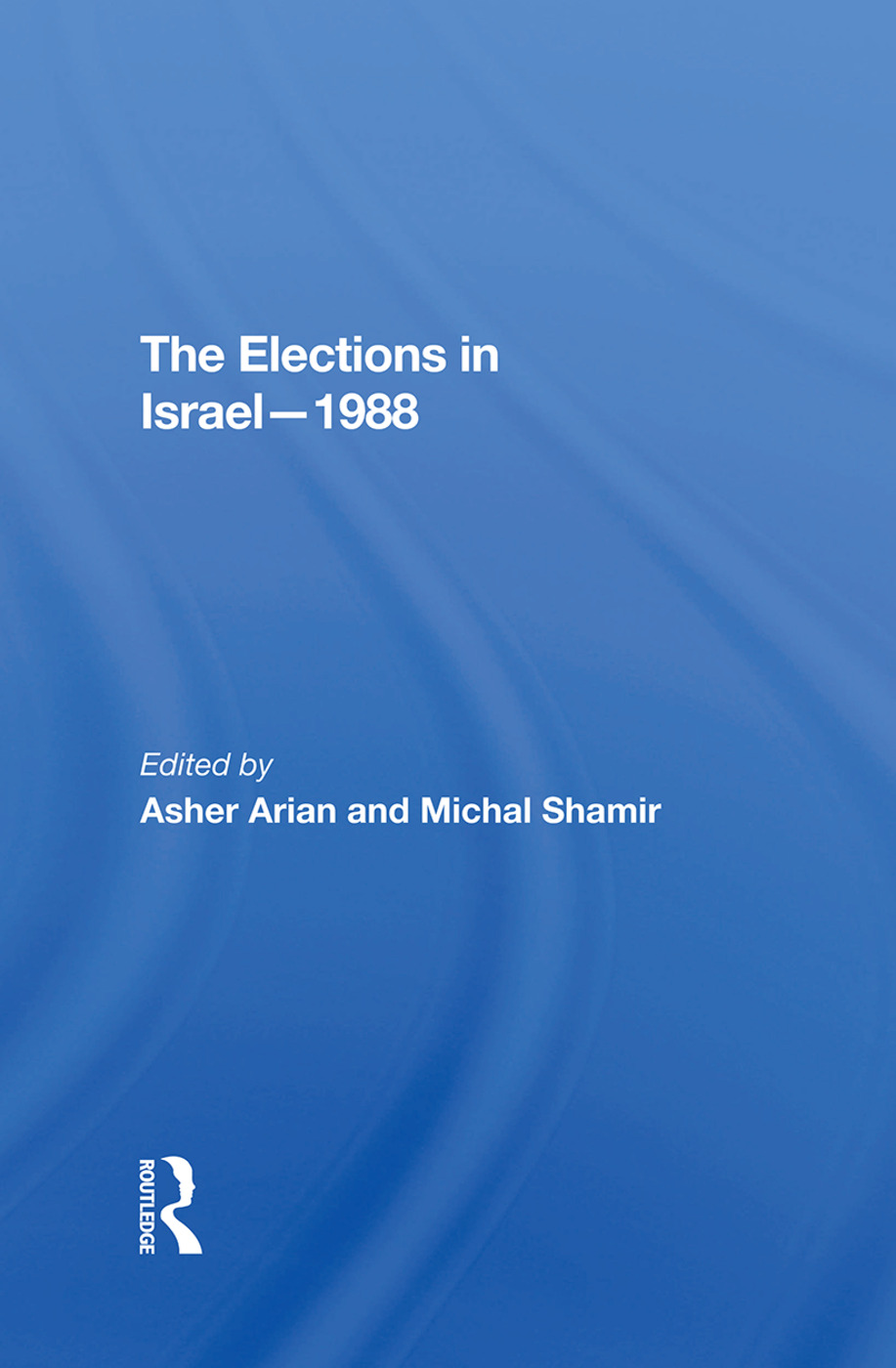 The Elections in Israel—1988