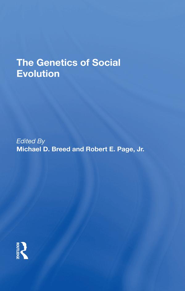 The Genetics Of Social Evolution: 1st Edition (Hardback) book cover