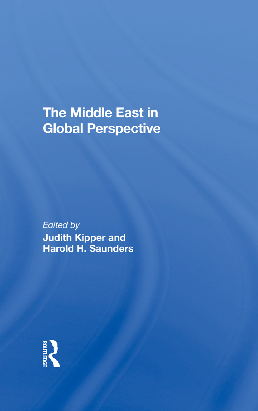 The Middle East In Global Perspective: 1st Edition (Hardback) book cover