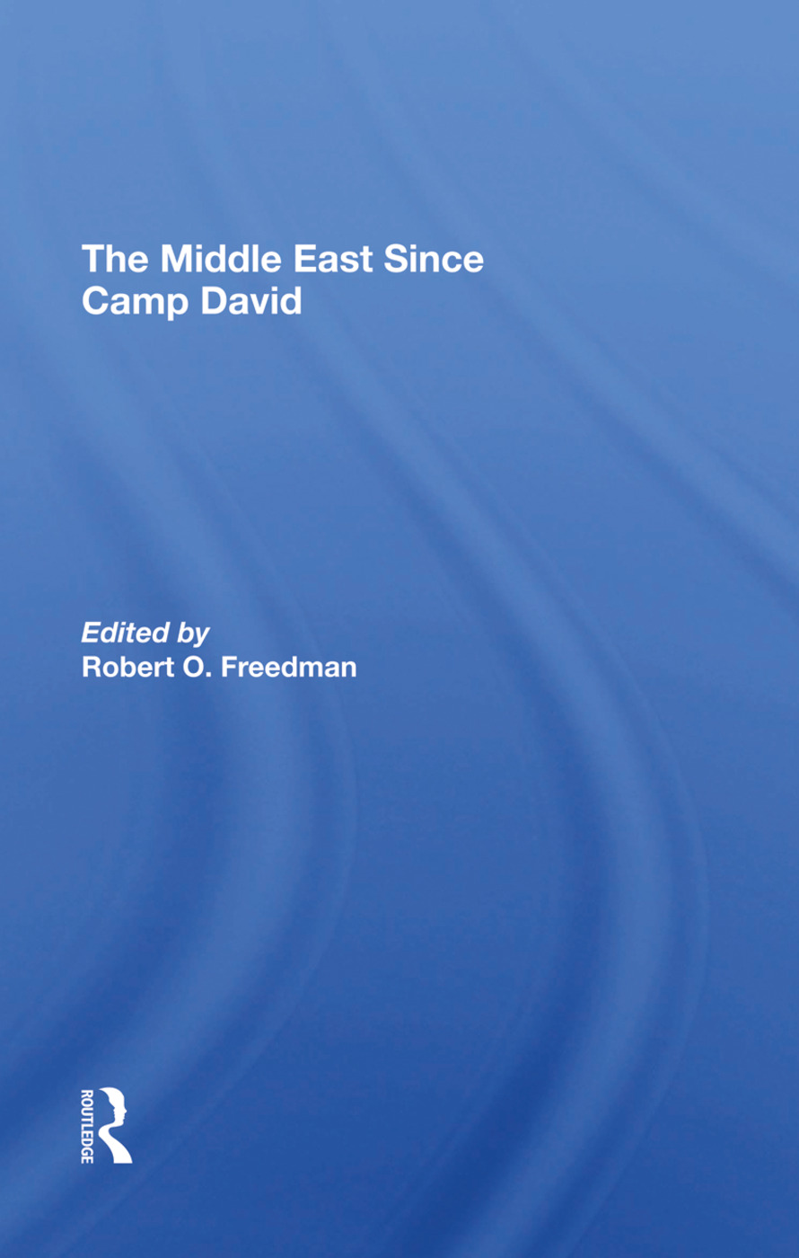 The Middle East Since Camp David: 1st Edition (Hardback) book cover