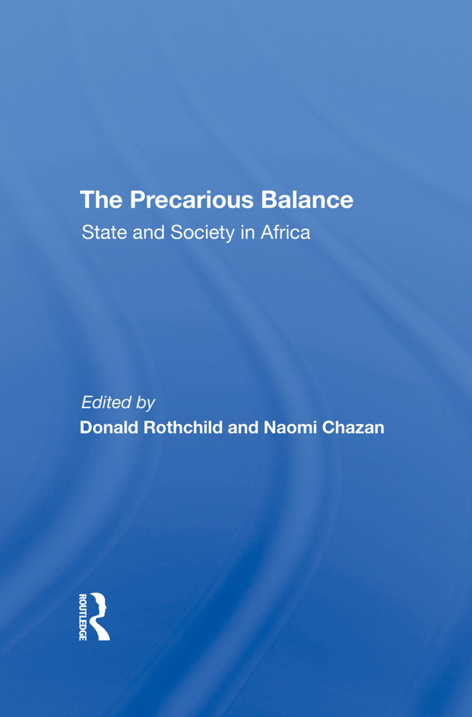 The Precarious Balance: State And Society In Africa book cover
