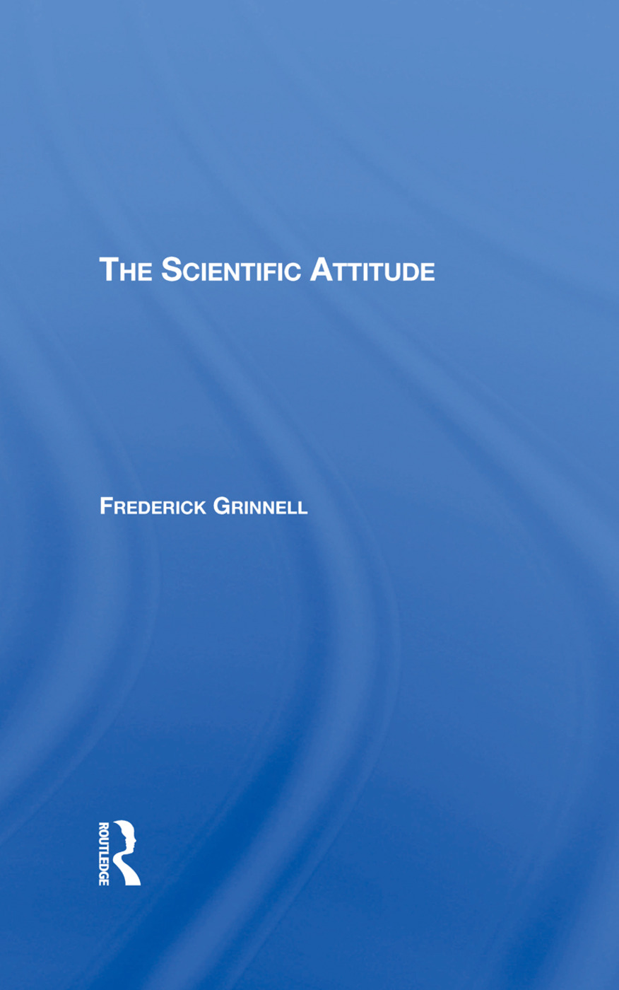 The Scientific Attitude book cover
