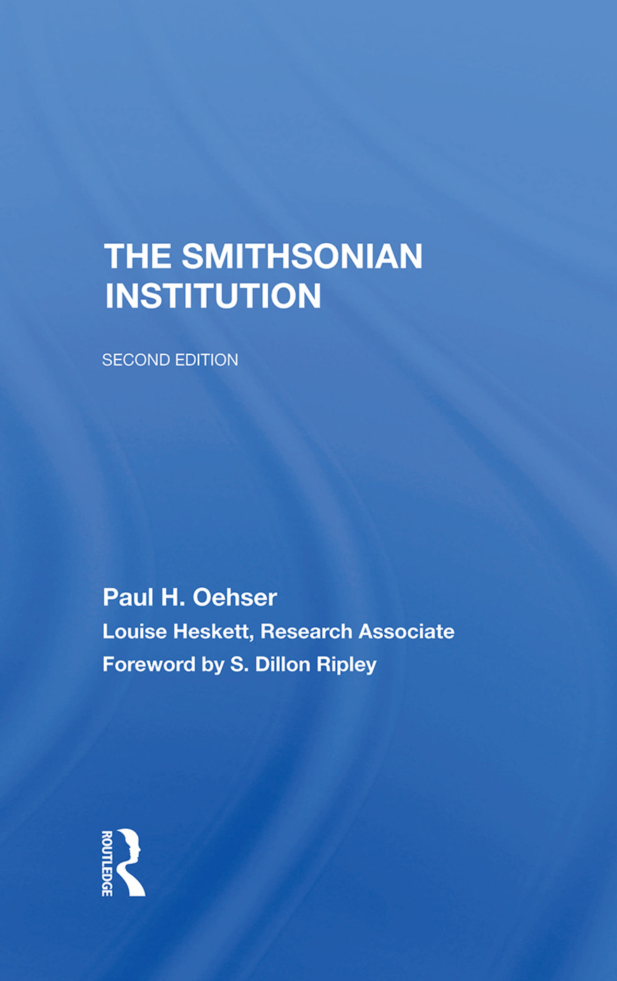 The Smithsonian Institution: Second Edition book cover