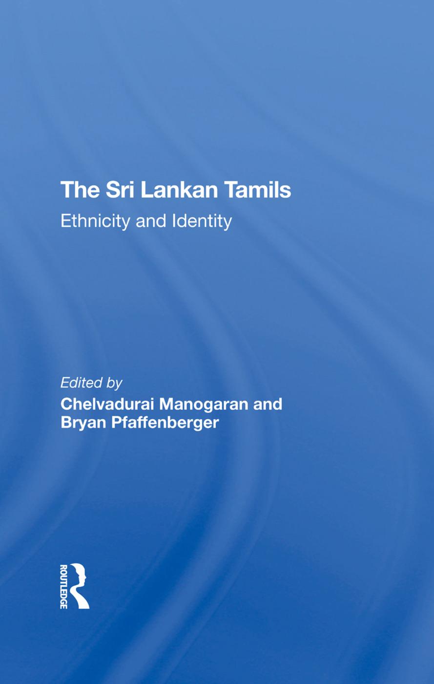 Introduction: The Sri Lankan Tamils