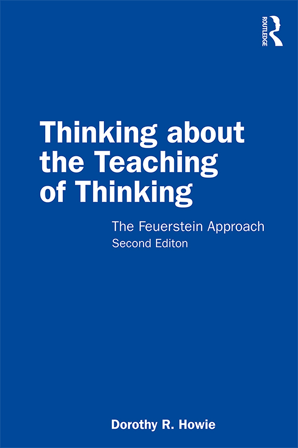 Thinking about the Teaching of Thinking, Second Edition: The Feuerstein Approach book cover