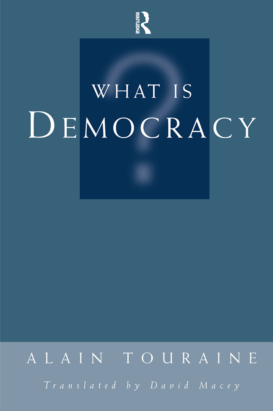 What Is Democracy? book cover
