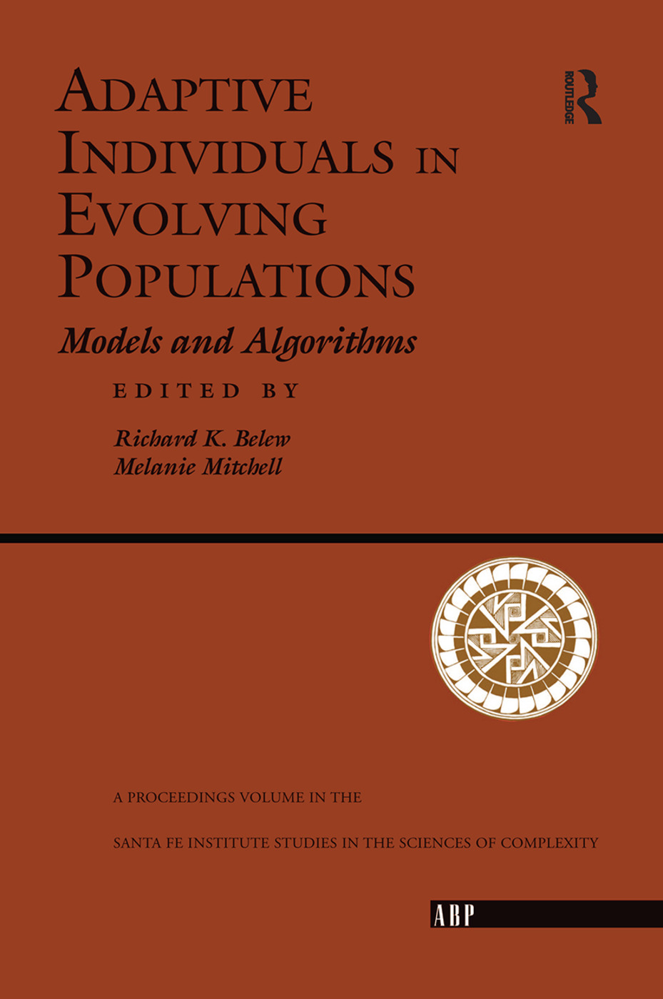 Adaptive Individuals In Evolving Populations: Models And Algorithms, 1st Edition (Hardback) book cover