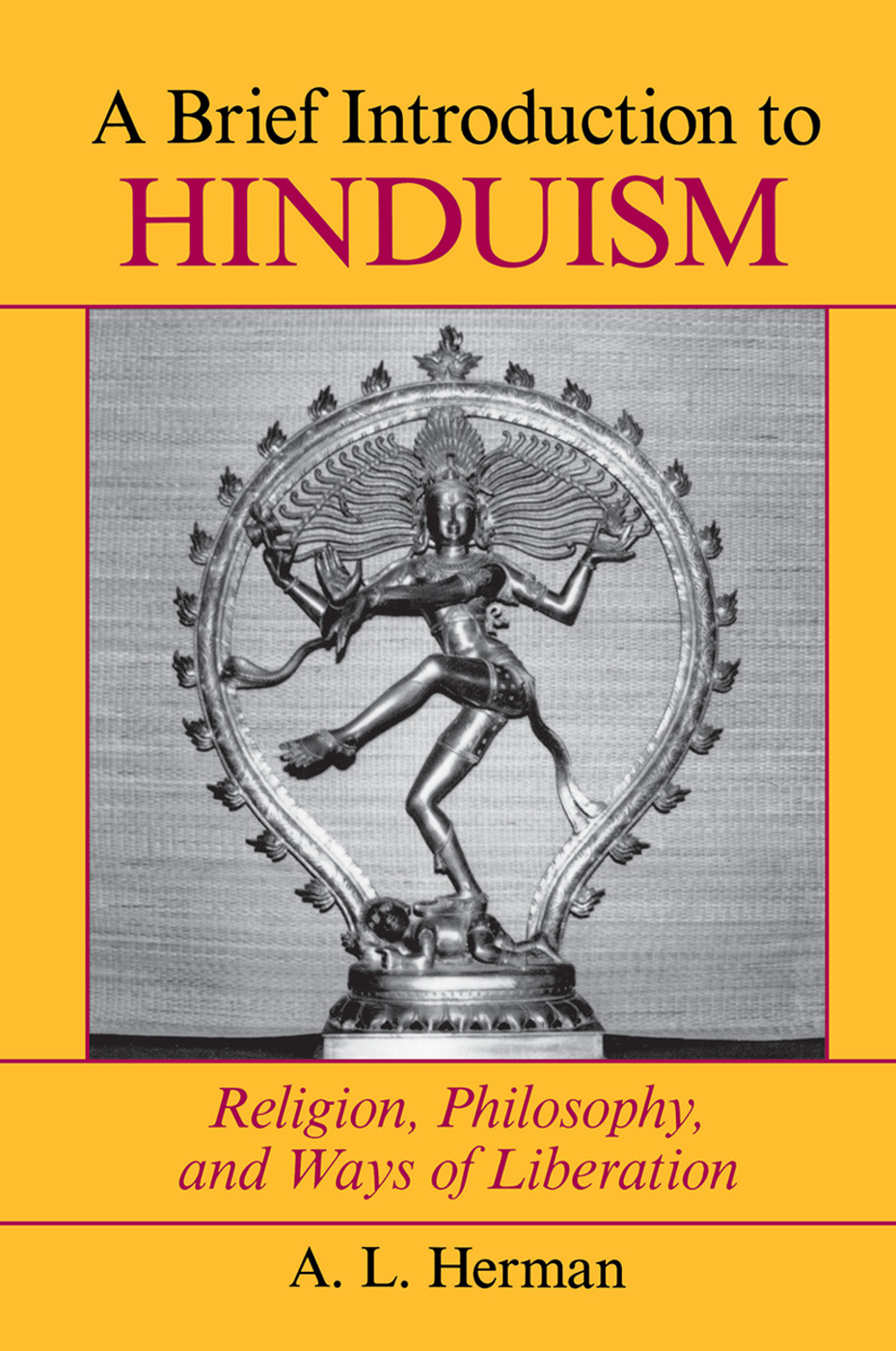 A Brief Introduction To Hinduism: Religion, Philosophy, And Ways Of Liberation, 1st Edition (Hardback) book cover