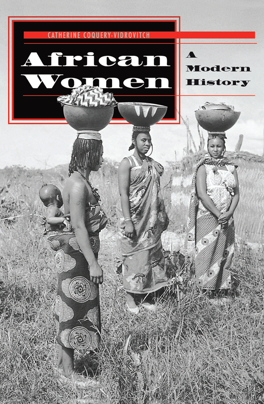 African Women: A Modern History, 1st Edition (Hardback) book cover