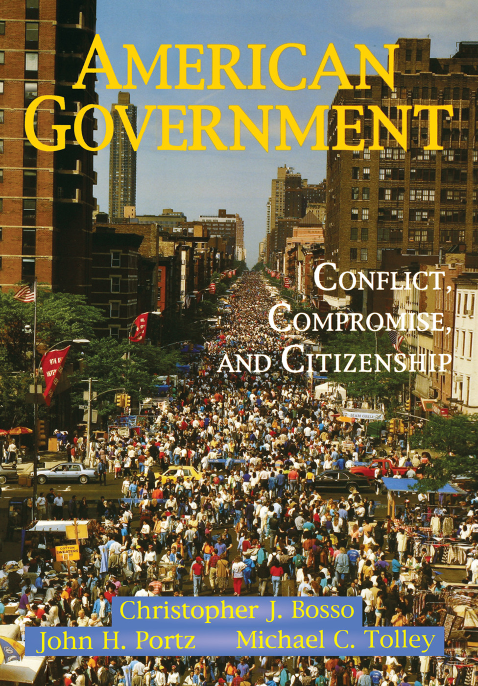 American Government: Conflict, Compromise, And Citizenship book cover