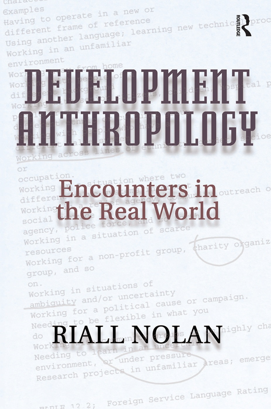 Development Anthropology: 1st Edition (Hardback) book cover