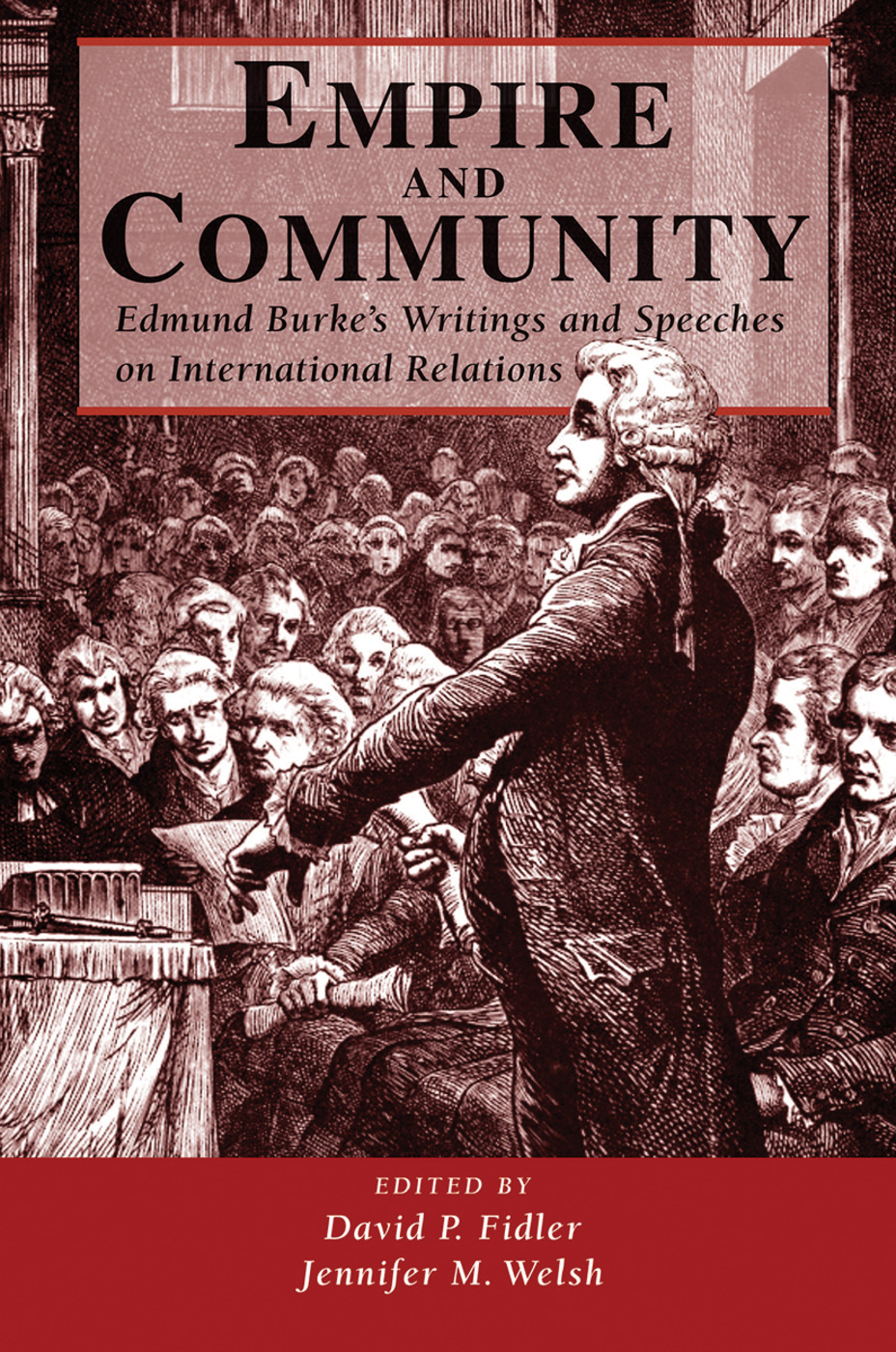 Empire And Community: Edmund Burke's Writings And Speeches On International Relations book cover