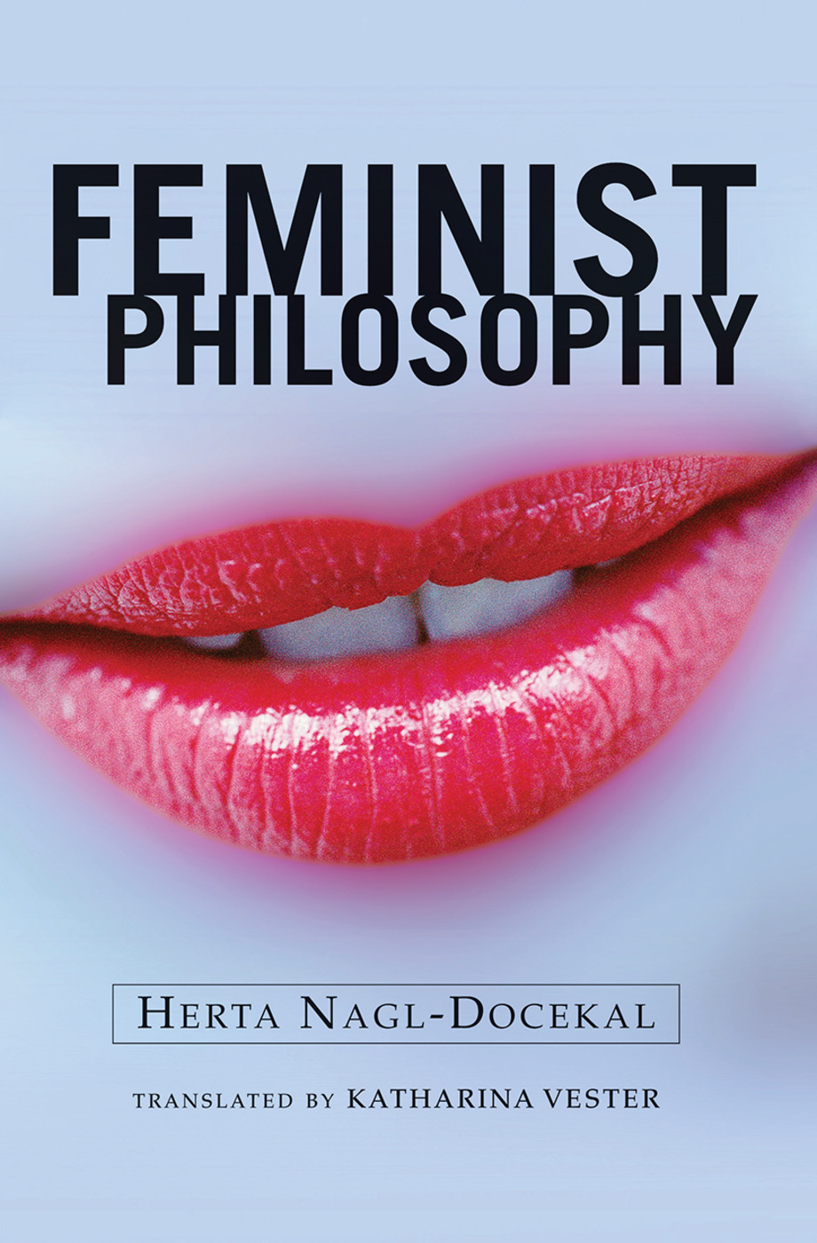 Feminist Philosophy: 1st Edition (Hardback) book cover
