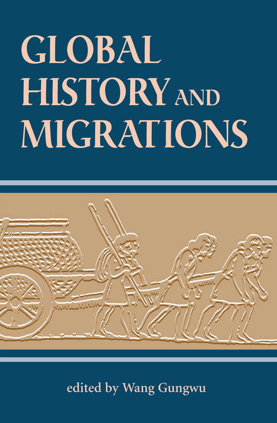 Global History And Migrations: 1st Edition (Hardback) book cover
