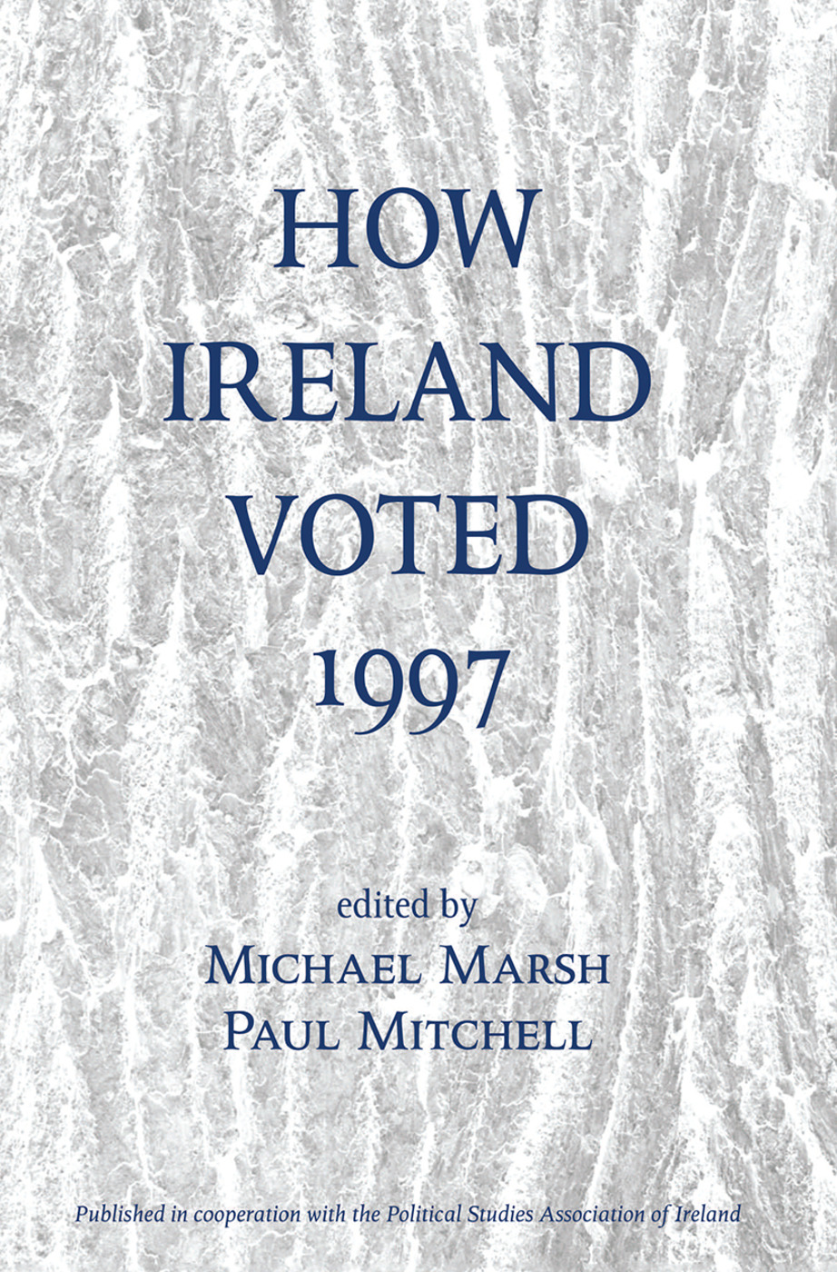 How Ireland Voted 1997 book cover