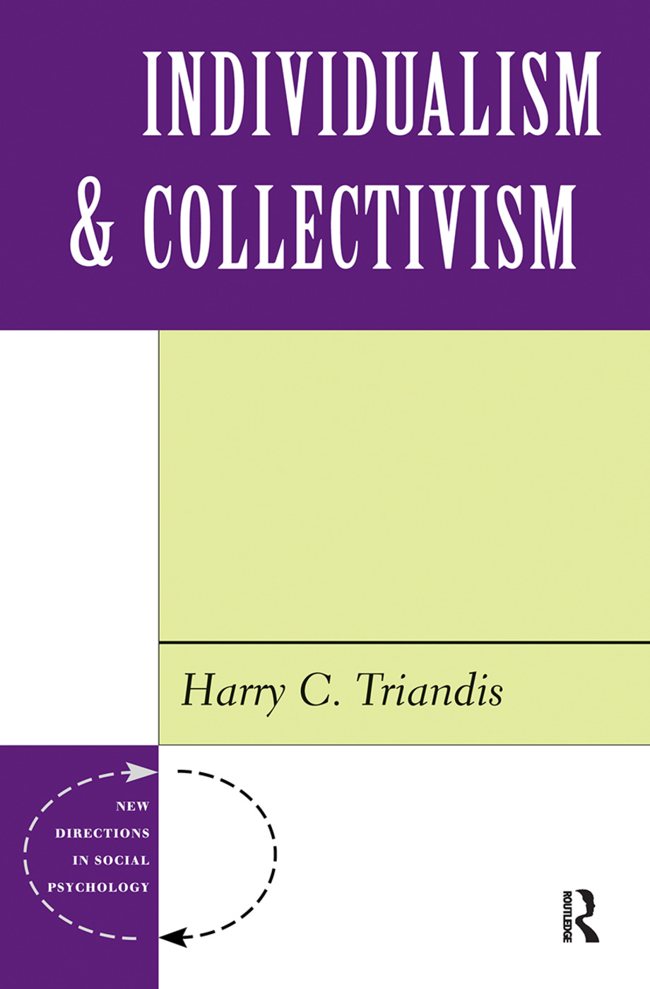 Individualism And Collectivism: 1st Edition (Hardback) book cover