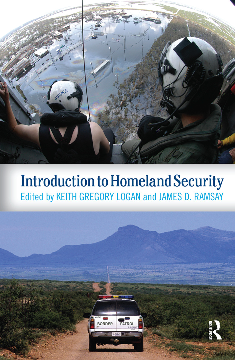 Introduction to Homeland Security: 1st Edition (Hardback) book cover