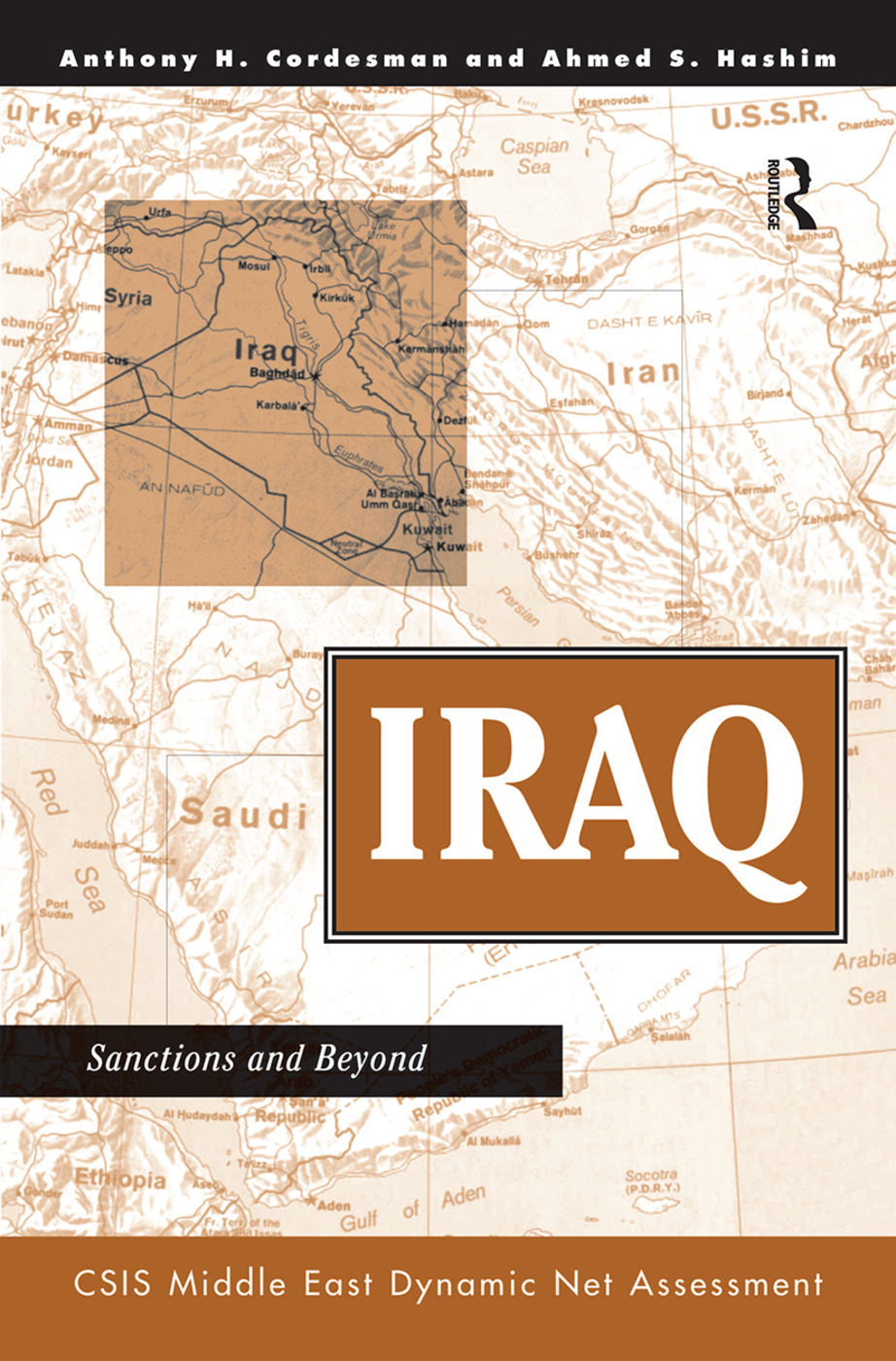 Iraq: Sanctions And Beyond, 1st Edition (Hardback) book cover