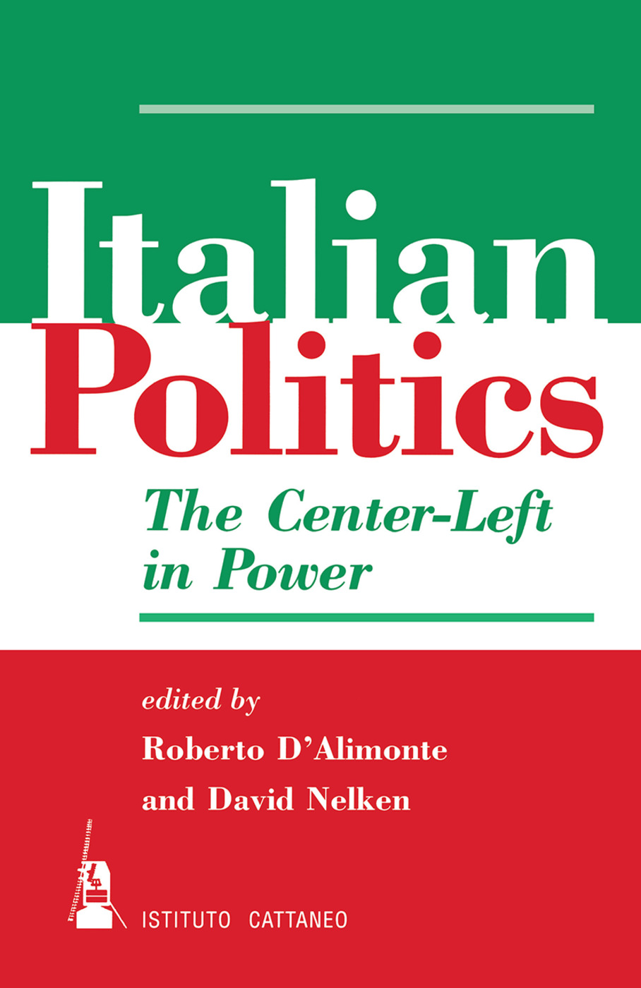 Italian Politics: The Center-left In Power book cover