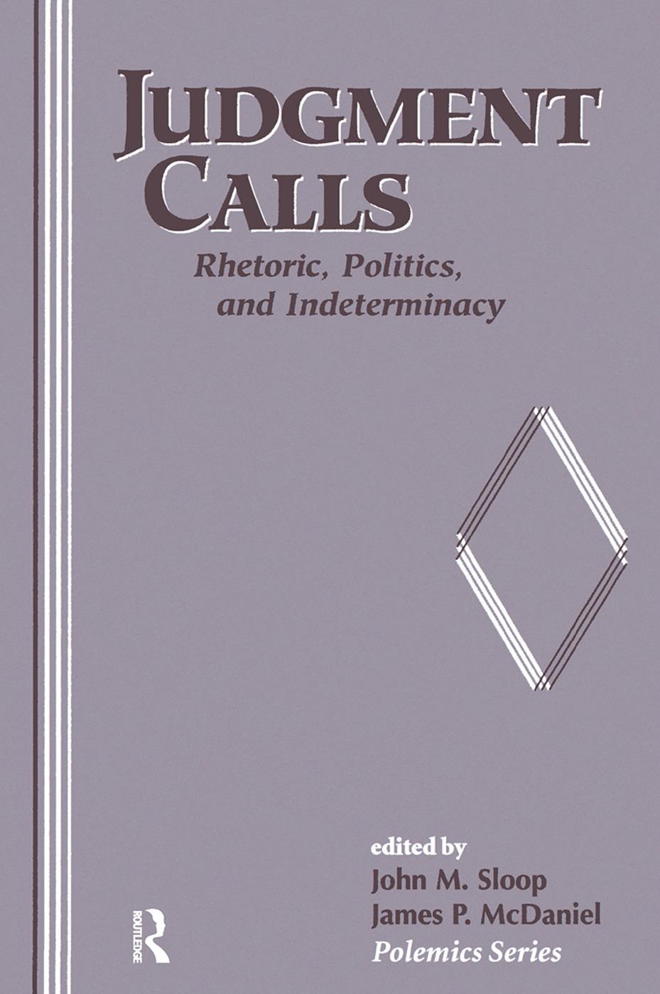 Judgment Calls: 1st Edition (Hardback) book cover