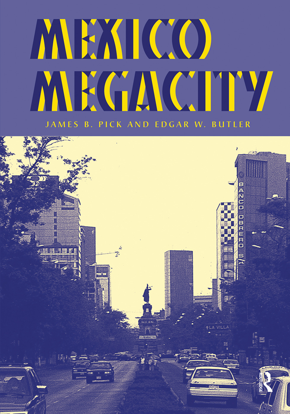 Mexico Megacity: 1st Edition (Hardback) book cover