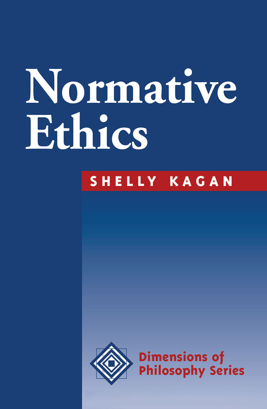 Normative Ethics: 1st Edition (Hardback) book cover