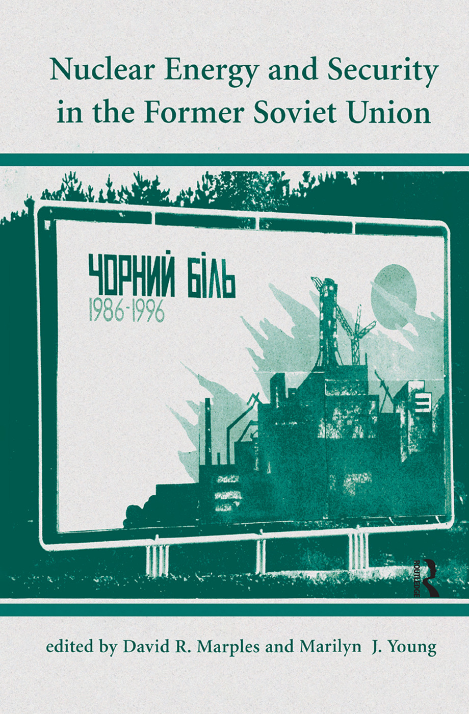Nuclear Energy And Security In The Former Soviet Union book cover