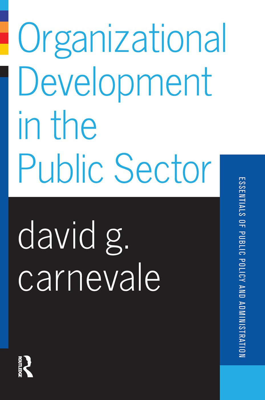 Organizational Development In The Public Sector book cover