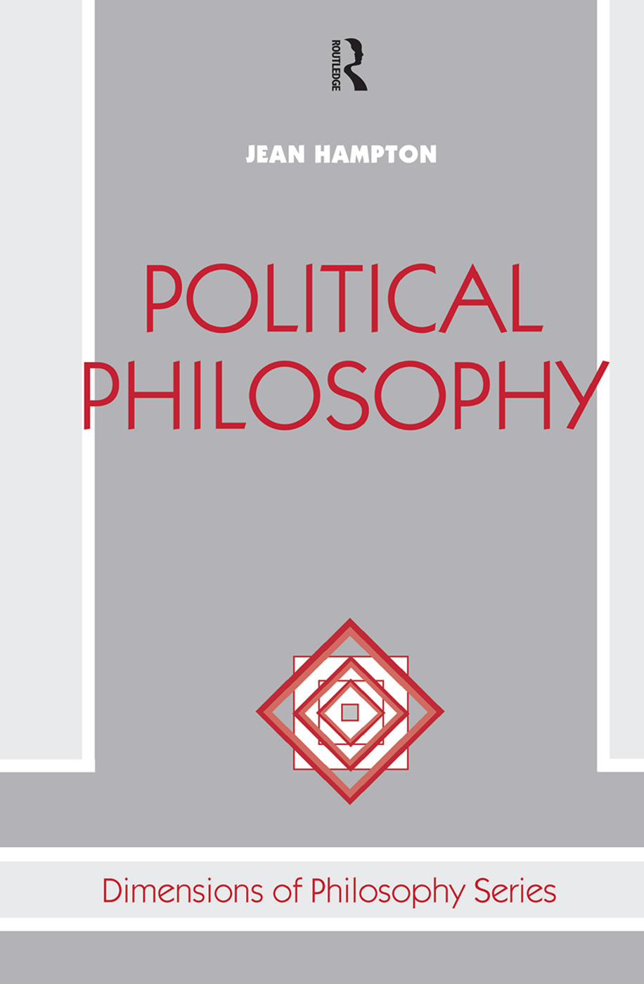 Political Philosophy: 1st Edition (Hardback) book cover