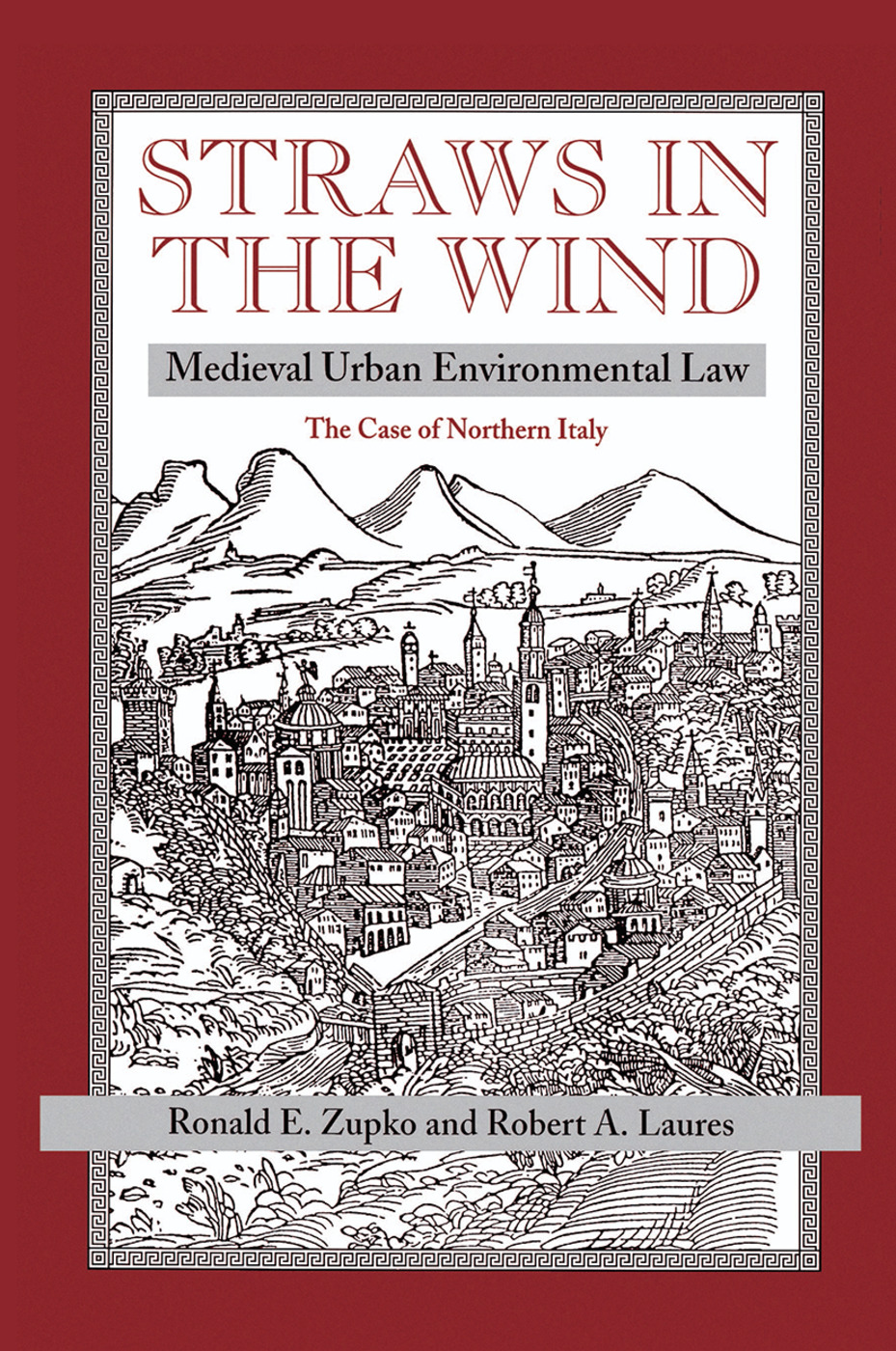Straws In The Wind: Medieval Urban Environmental Law--the Case Of Northern Italy, 1st Edition (Hardback) book cover