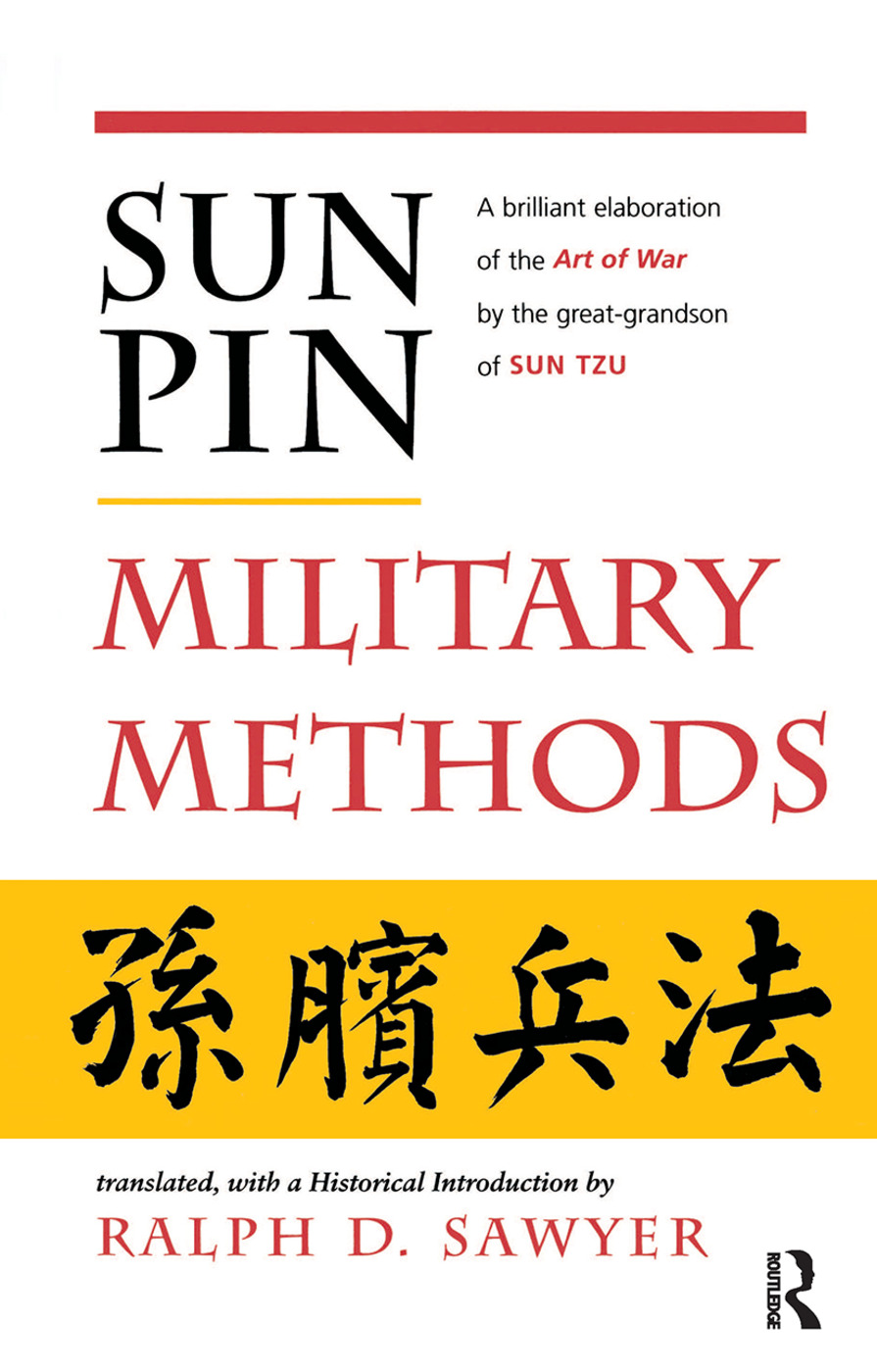 Sun Pin: Military Methods: 1st Edition (Hardback) book cover