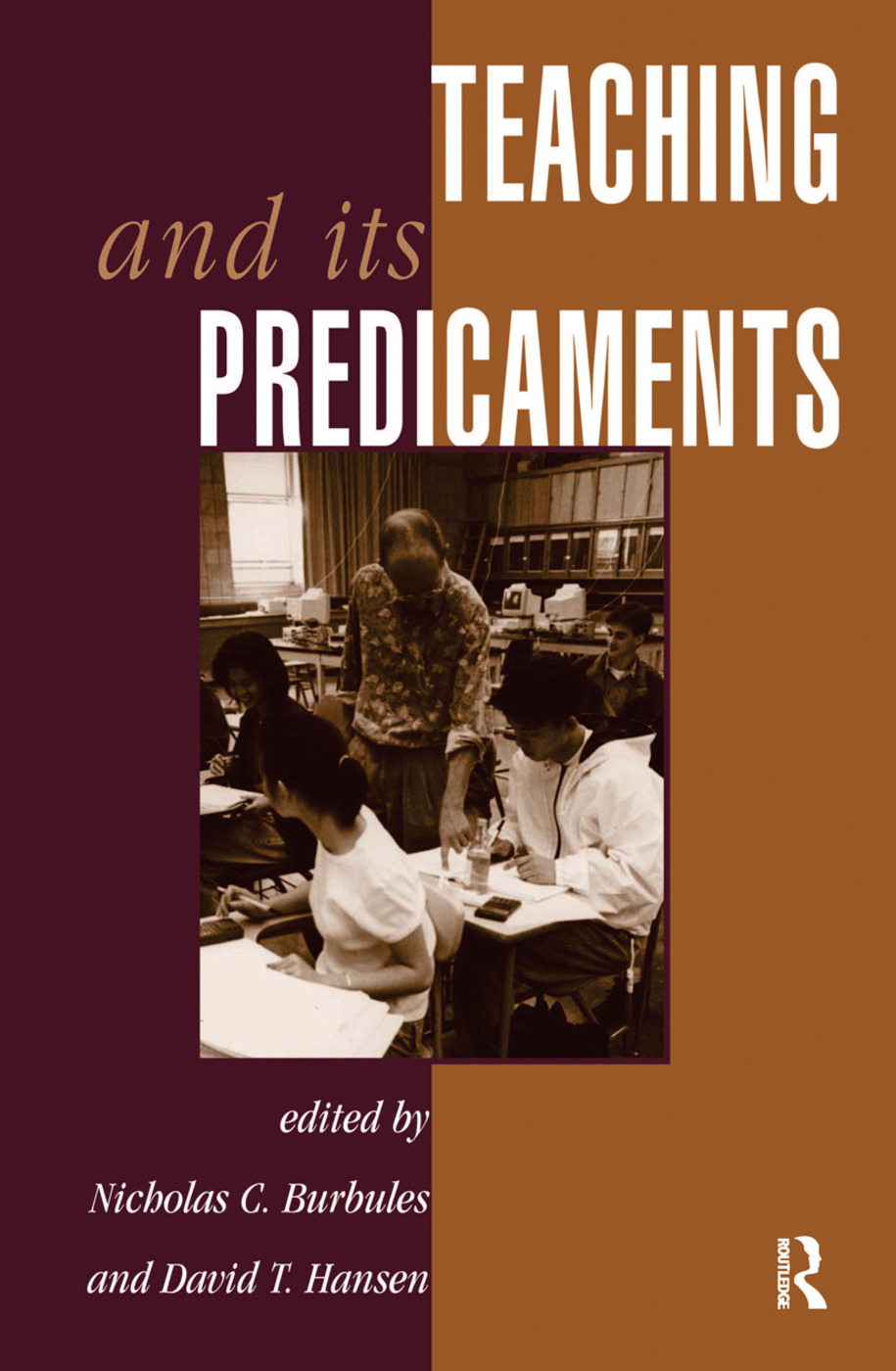 Teaching And Its Predicaments book cover