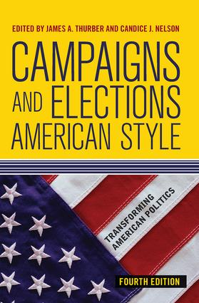 Campaigns and Elections American Style: 4th Edition (Hardback) book cover