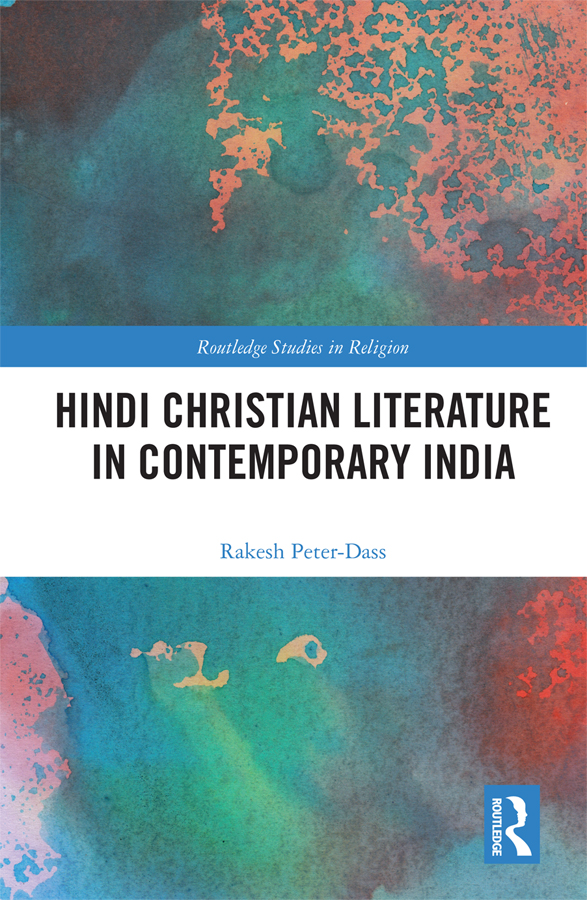 Hindi Christian Literature in Contemporary India book cover