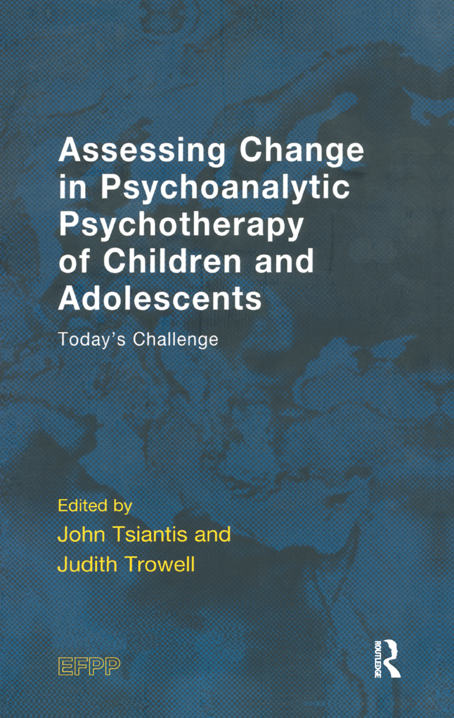 Research on therapeutic processes: In psychodynamic psychotherapy with children and adolescents