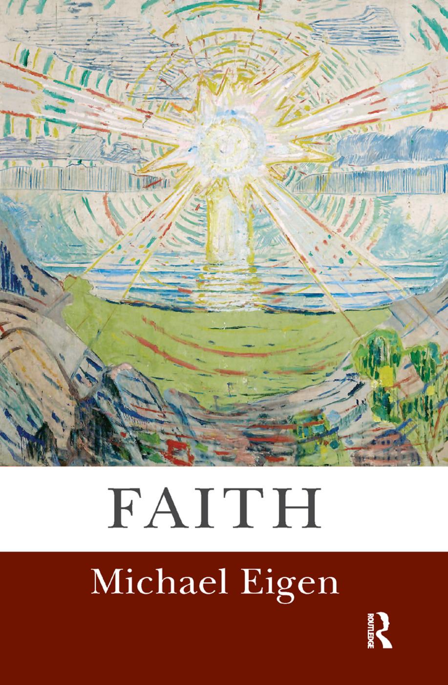 Faith: 1st Edition (Hardback) book cover