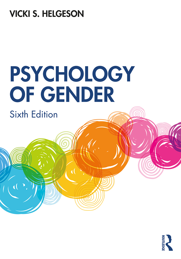 Psychology of Gender book cover