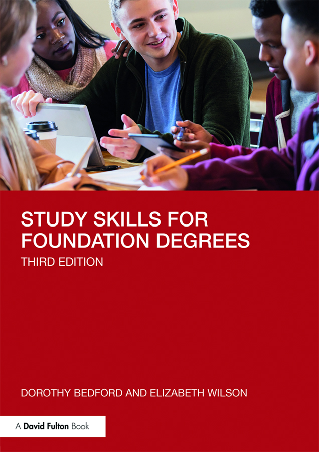 Study Skills for Foundation Degrees book cover
