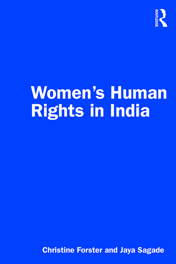 Women's Human Rights in India: 1st Edition (Paperback) book cover