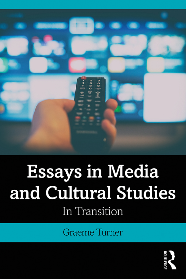 Essays in Media and Cultural Studies: In Transition book cover