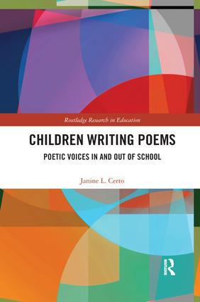 Children Writing Poems: Poetic Voices in and out of School book cover